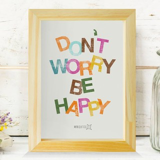 Don't worry, be happy - comprar online