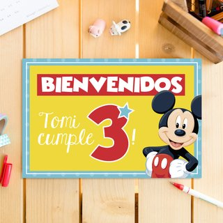 Kit Mickey Birthday Party - comprar online