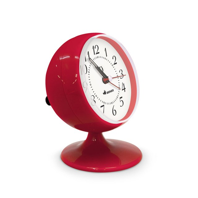 Ball Clock Rojo