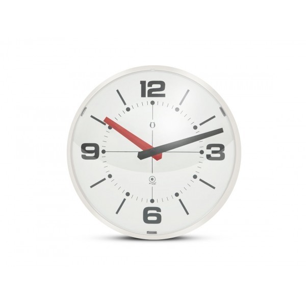 Ball Wall clock blanco/blanco - comprar online