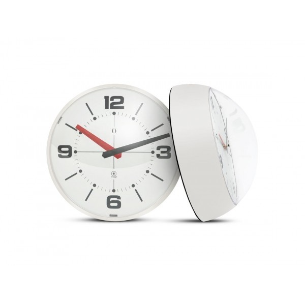 Ball Wall clock blanco/blanco