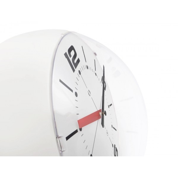 Ball Wall clock blanco/blanco en internet