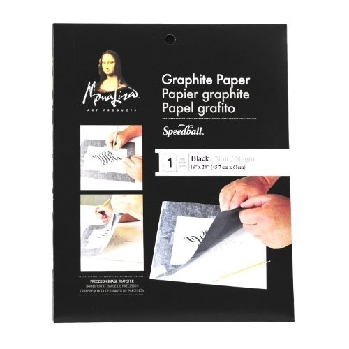Papel para transferir - Grafito - Jumbo - Cleo Art Club