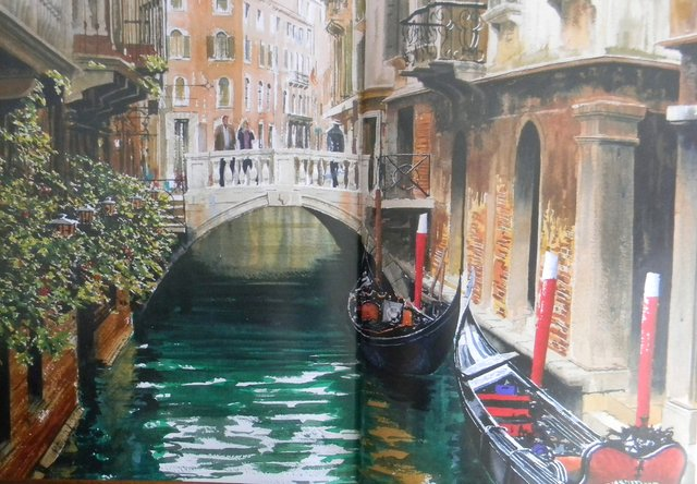 Venice in Watercolour - Cleo Art Club