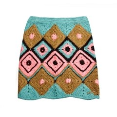 Swiss Jacquard Mini Skirt Code1526 on internet