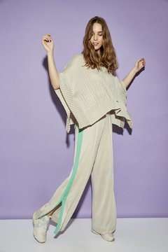 BEE-EATER BIRD PONCHO SWEATER CODE 2604