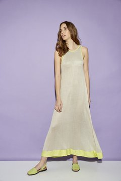 VESTIDO LARGO NET ABUBILLA ART 2614