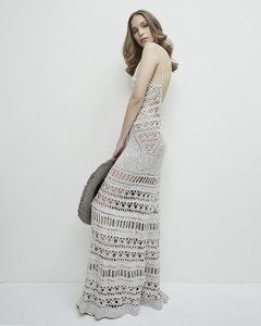 "CODE 2803 ""CAROLINE"" HANDMADE CROCHET LONG DRESS - buy online"