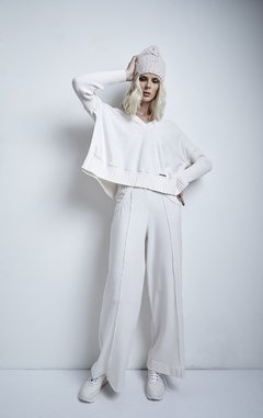 Image of JARAS EXTRA-SOFT, WIDE-CUT PANTS CODE 2902CUY