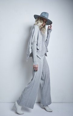 JARAS WIDE PANTS WITH LUREX CODE 2902LUX - Agostina Bianchi