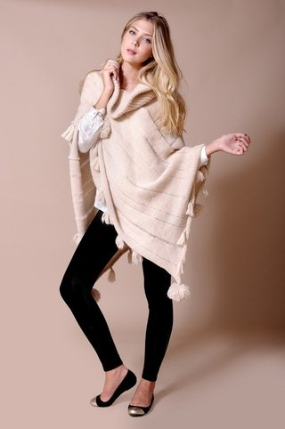 Gstaad Poncho Sweater Code 1728