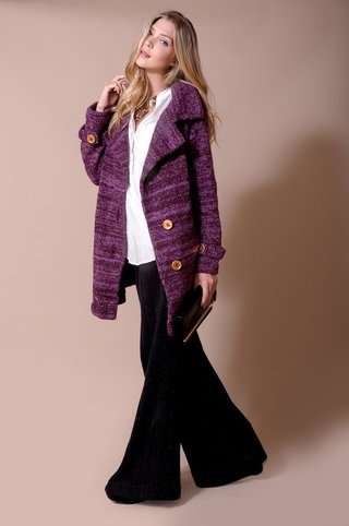 Bicolor Portillo Overcoat Code 1738
