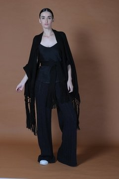DIAMOND FRINGED PONCHO CODE 2128 on internet