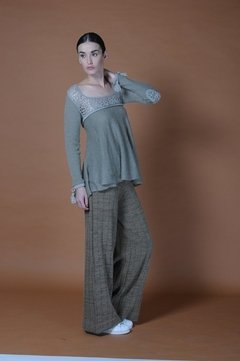 WATER KNITTED BLOUSE CODE 2118 on internet