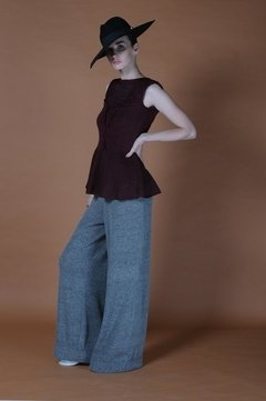 AIR KNITTED SLEEVELESS BLOUSE CODE 2119 - Agostina Bianchi