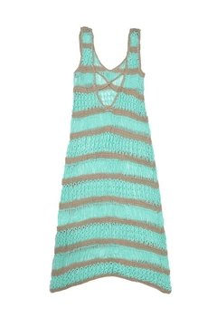 VESTIDO LARGO AFTER BEACH ART 2215 - online store