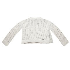 RHODIUM PREMIUM ANGORA SWEATER (SOFT NATURALS CAPSULE COLLECTION) CODE 2720 - Agostina Bianchi