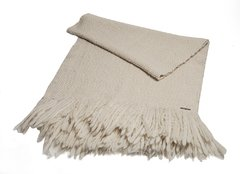 PLAIN PONCHO STYLE BLANKET KNITTED ON INDIGENOUS LOOM, WITH FRINGES 0,50 X 1,40M  CODE 2053 - HOME COLLECTION- - online store