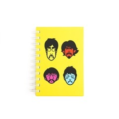 Cuaderno Beatles A6