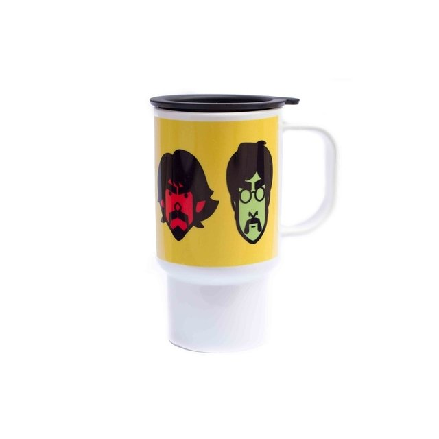 Taza térmica Beatles en internet