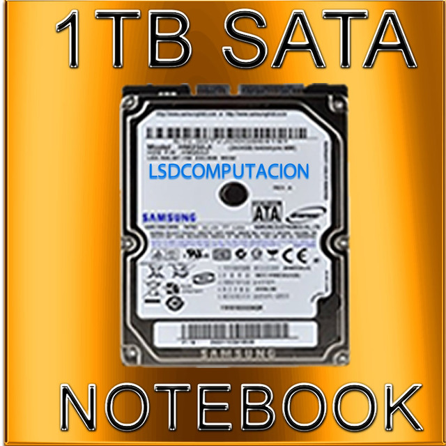 disco rigido 1tb sata samsung notebook ps3 dvr netbook pc all in one nuevo