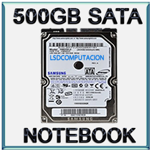 disco rigido 500gb sata notebook ps3 dvr netbook pc all in one nuevo