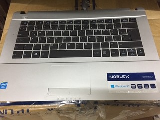 Teclado notebook noblex nb16w101