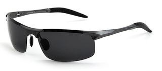 Male Driving Polarized Glasses - Gray Frame