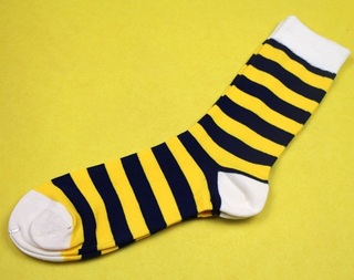 Modern Colorful Socks Fashion - (Pack of 3 Pairs) - Yellow