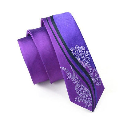 Corbata Slim Janson&Vogue - Floral - Purpura