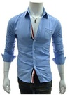 Camisa Casual con Linea Central - en 3 Colores