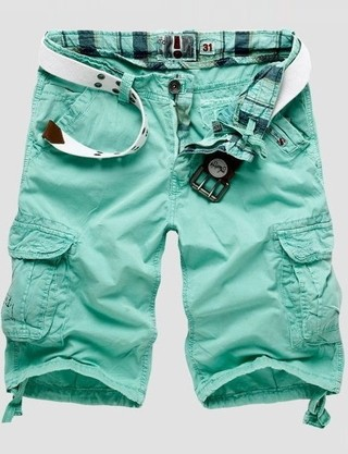 Short Fashion Military Style - Youth Colors - in 5 Colors