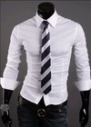 Camisa Social Slim Fit Estilo Luxury Lisa - en 10 Colores