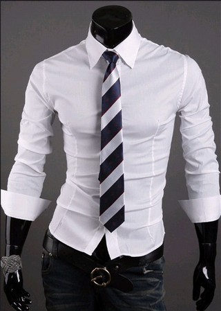 Social Slim Fit Shirt Luxury Style - in 10 Colors