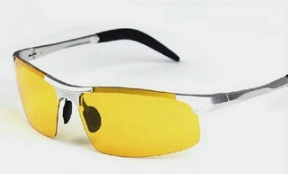 Male Driving Polarized Glasses - Yellow Lenses