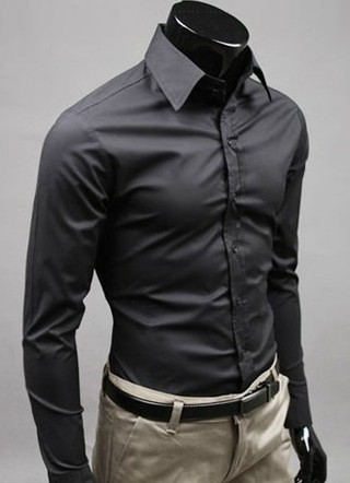 Lisa Social Slim Fit Shirt High Quality - in 12 Colors