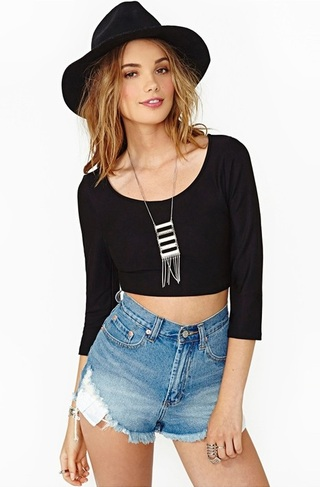 Top for Summer Hollow Coastal - Black
