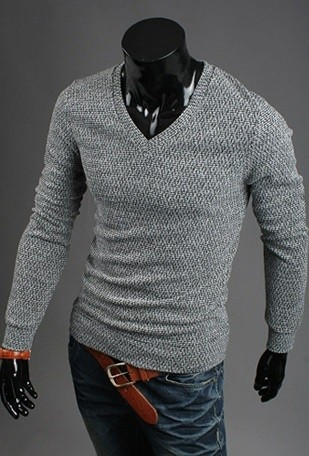 Sweater Moderno Slim Fit Tejido - en 5 Colores en internet