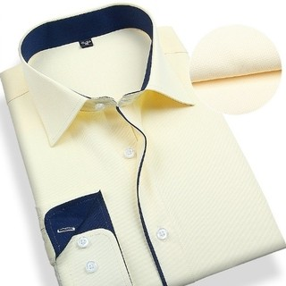 Social Shirt 100% Cotton Textured - Detail Front - in 7 Colors - buy online