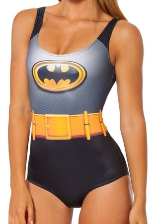 Body Fashion Moderno - Diseño Batman