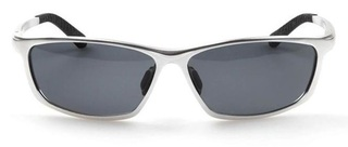Male Polarized Sunglasses Fashion - Silver Frame