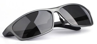 Male Polarized Sunglasses Fashion - Gray Frame