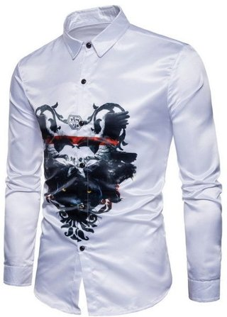 New Fashion Youth Shirt - Panther - in White and Black