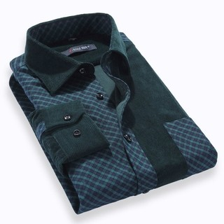 Fashion checkered Shirt in Pana - Modern Colors - Blue / Green