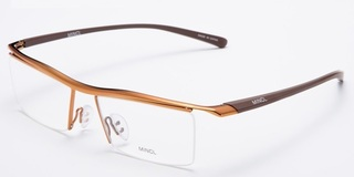 Titanium Sport Glasses - Brown Frame