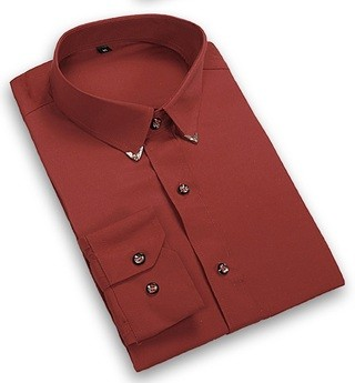 Camisa de Vestir Elegante Fashion Color Solido - Detalles Modernos - en 6 Colores