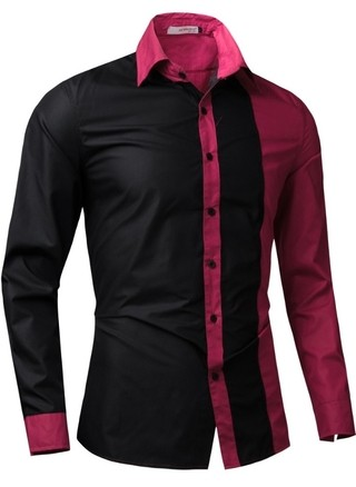Fashion Casual Shirt in Two Colors - Modern Design - in 4 Colors