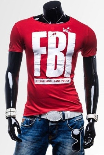 Camiseta Slim FIt Fashion - Diseño F.B.I. - en 7 Colores