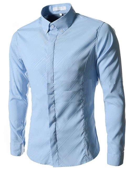 Camisa Elegante Slim Fit Night Shine a Rayas - en 5 Colores - comprar online