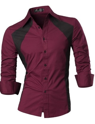 Modern Casual Slim Fit Shirt - in Two Colors - in 5 Colors - buy online